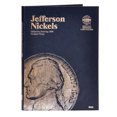 Whitman Folder 9035 Jefferson Nickel 1996 2013 3