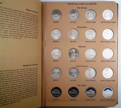 Dansco National Parks Quarter Series Vol 1 P D S S 8146