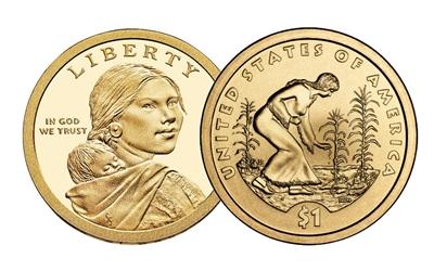 2009 P Sacagawea Dollar 25 Coin Roll