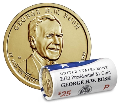 S Rutherford Hayes Presidential Proof Dollar Roll 20 US Coins 2011